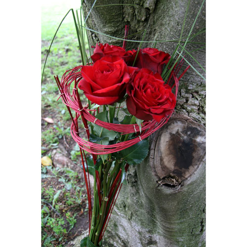 livraison roses rouges Paris