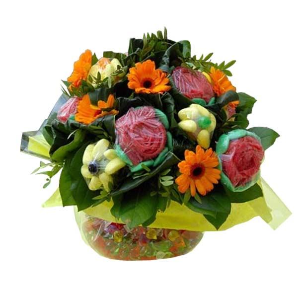 Offrir des fleur bouquet mariage cette cration fleurie de for Offrir des fleurs