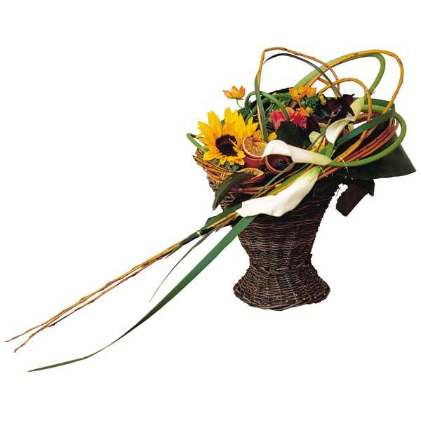 Bouquet de fleurs tourbillon