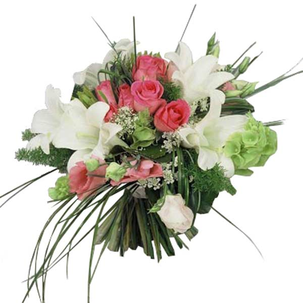 Bouquet lily rose