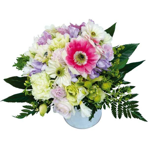 Bouquet de fleurs romantique