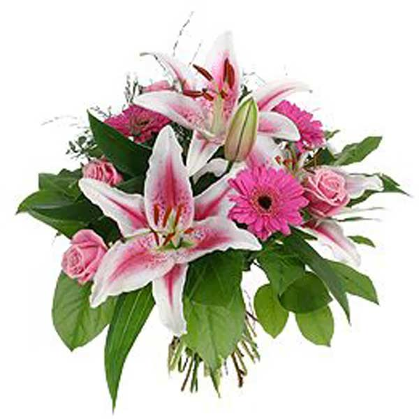 Bouquet de fleur naissance