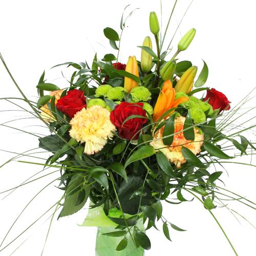 Livraison Bouquet De Fleurs Rond Jolie
