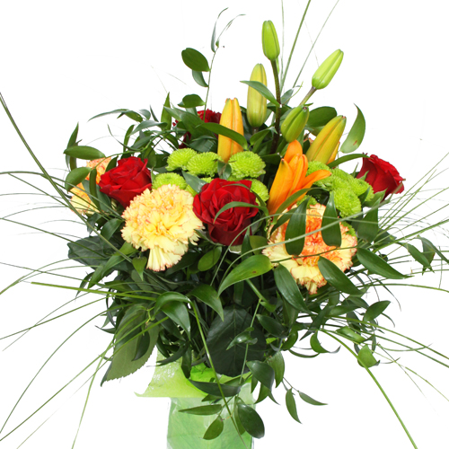 Livraison de fleurs pas cher for Bouquet de fleurs un