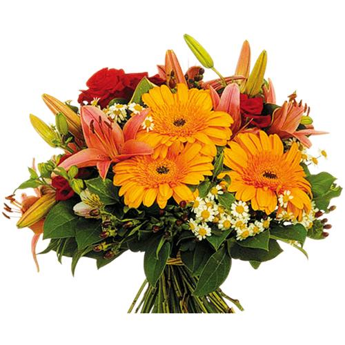 livraison bouquet roses bouquet de fleurs enflamm entrefleuristes. Black Bedroom Furniture Sets. Home Design Ideas