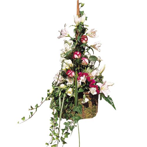 achat composition florale composition florale confettis entrefleuristes. Black Bedroom Furniture Sets. Home Design Ideas