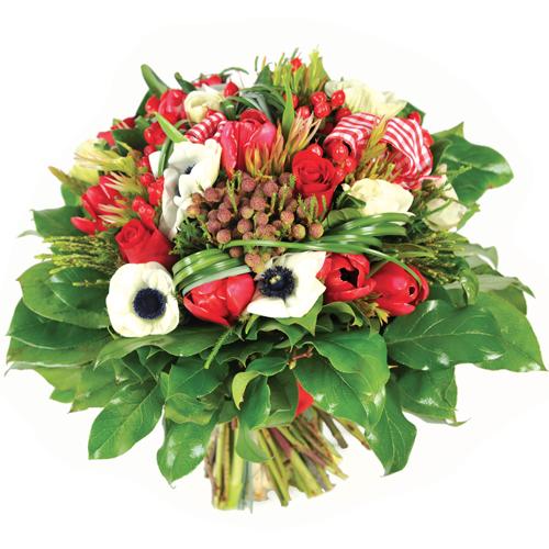 bouquet de fleurs haribo