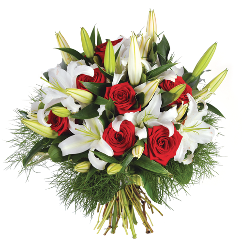 La livraison de fleurs pour deuil en 4h for Bouquet de fleurs 5