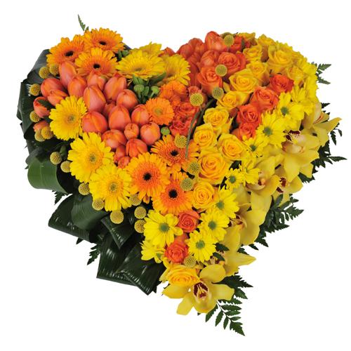 La livraison de fleurs pour deuil en 4h for Service livraison fleurs