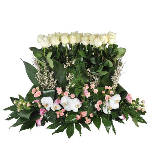 Page 1 d couvez nos compositions de fleurs deuil for Fleurs livrees