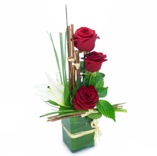 livraison de fleurs de qualités par un artisan fleuriste