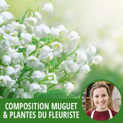 miniature de la Composition surprise Muguet & plantes | Entrefleuristes