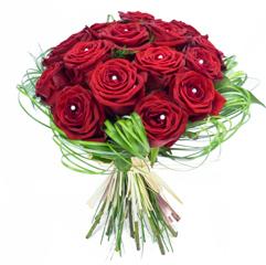 Dites Lui Je T Aime Avec Des Fleurs Rouges Et Blanches Pour La Saint